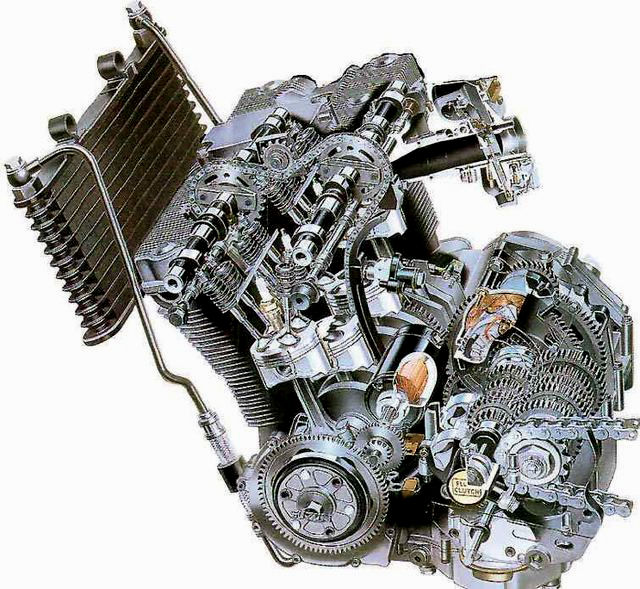 Suzuki Oil Cooled Motorcycle Engines