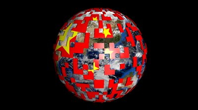 stock-footage-rotating-earth-is-covered-by-chinese-yuan-sphere-animation